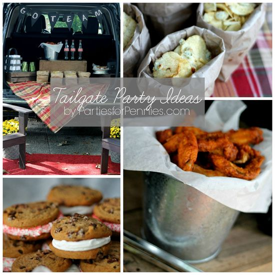 Tailgate Party Ideas by PartiesforPennies...