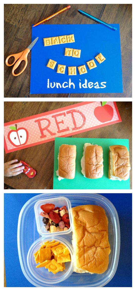 {school lunch ideas}~ always looking for something new to pack!