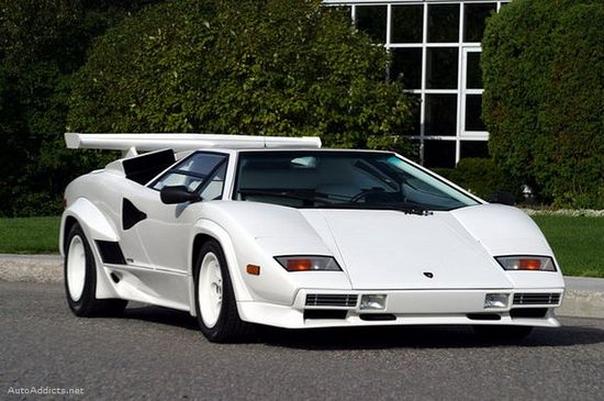 Lamborghini Countach  This is the car that made me love cars.