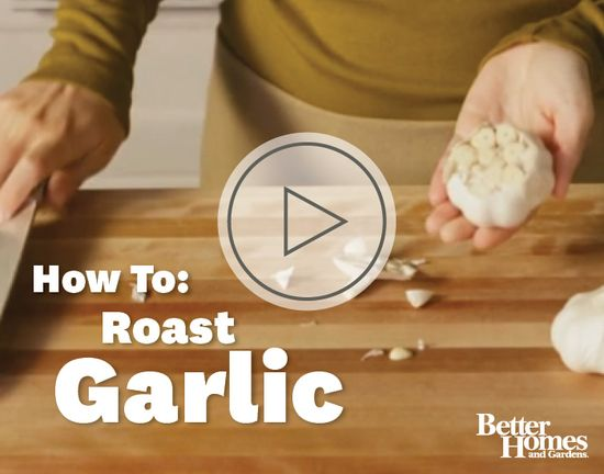 Add depth of flavor to a variety of dishes with the addition of roasted garlic. More garlic techniques: www.bhg.com/...