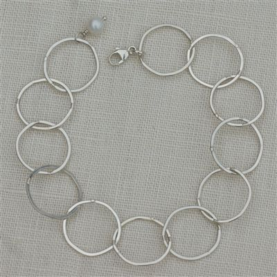 Serenity Circle Bracelet : Handmade Jewelry by Swoon Jewelry Studios