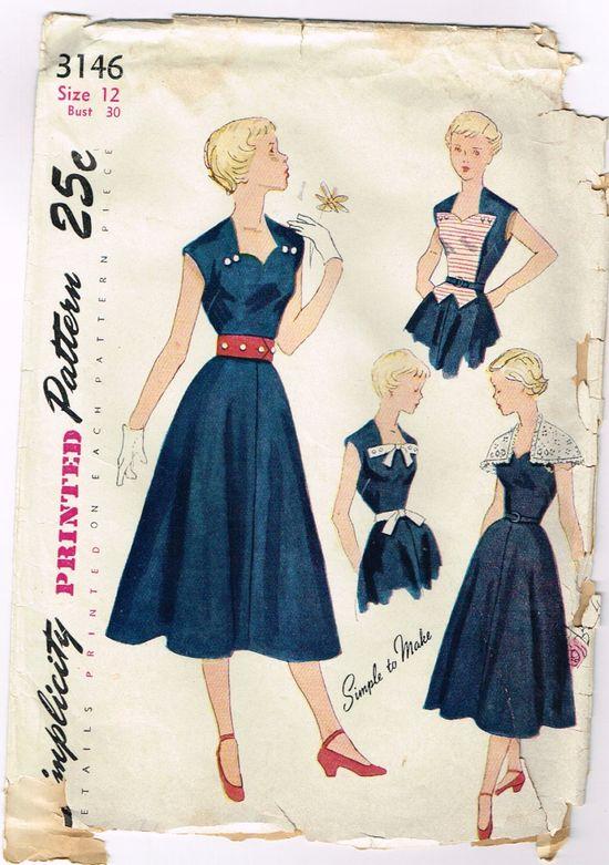 1940s dress patterns - Google Search