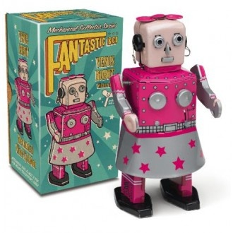 Lady Venus Collectable Tin Robot!
