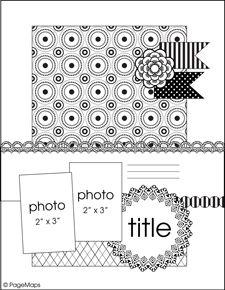 cute sketch at Scrapbook.com