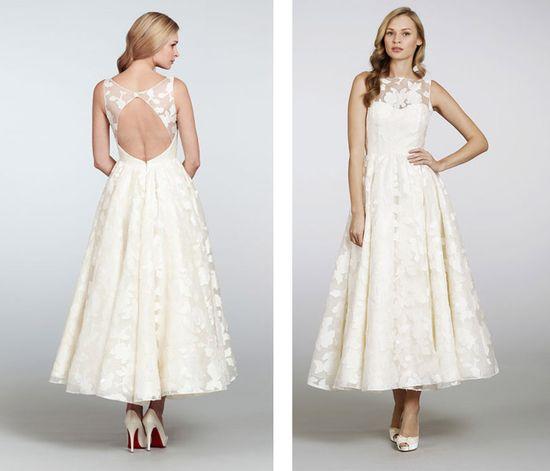 """Hayley Paige """"Hepburn"""" gown at Nordstrom Wedding Suites"""