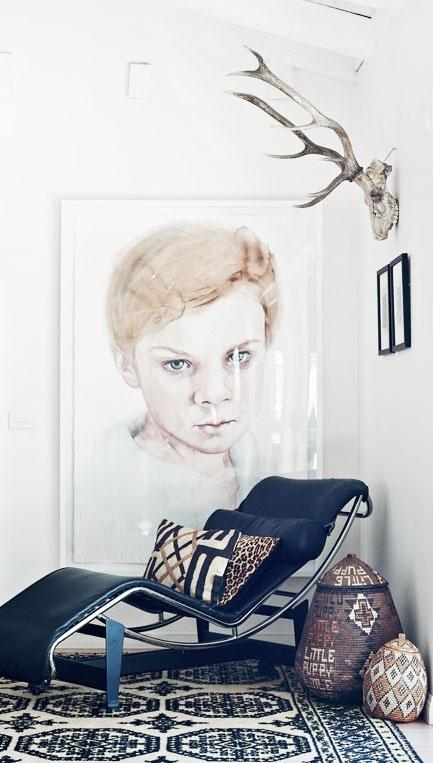 Artist Michael Zavros' home.