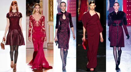 Fall 2013 Fashion Trend - Burgundy