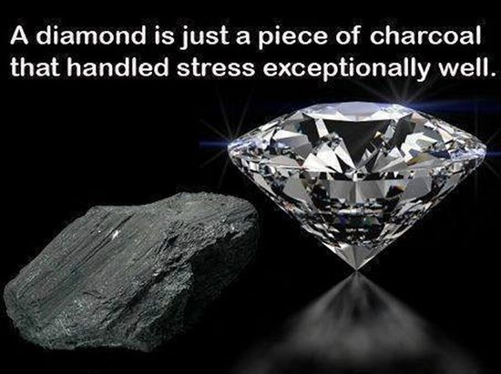 Diamonds! This is why I want a diamond tattoo(;