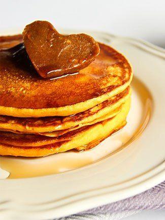 pumpkin pancakes with cinnamon butter recipe.
