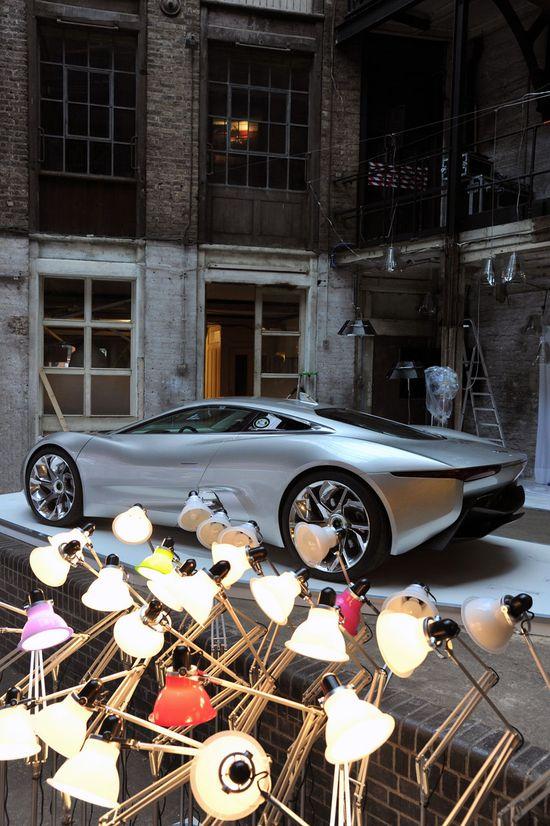 Jaguar C-X75 at Clerkenwell Design Week