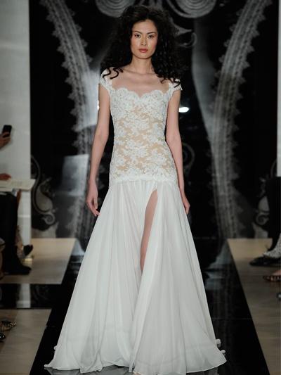 Sexy Wedding Dresses From Bridal Fashion Week -- Reem Acra