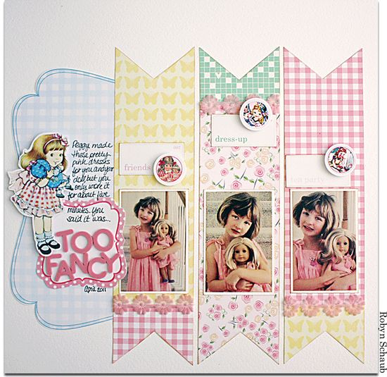 #papercraft #scrapbook #layout