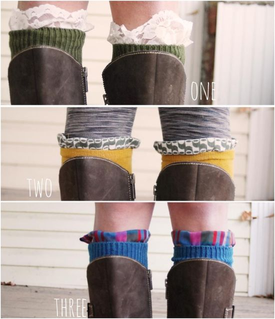 Do*It*Yourself//Embellished Knee Socks