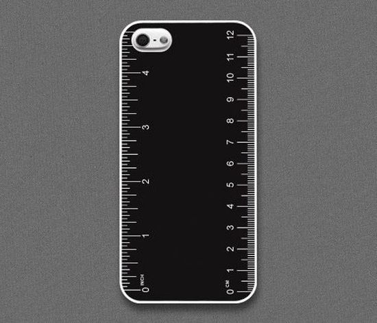 The Ruler iPhone Case