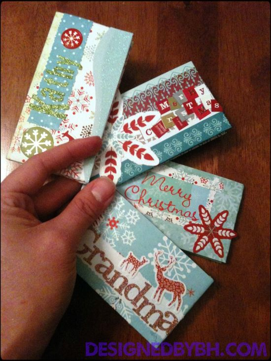 DIY gift card holders - nice way to personalize your gift when giving gift cards! #gift #wrapping