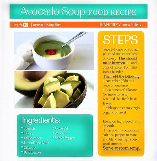 Avocado Soup Recipe.  Who loves avocado here? Here is a perfect recipe for a delicious avocado treat!