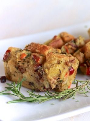 Savory Bread Pudding by The Noshery