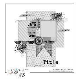 Scrap & Music layout sketch #3