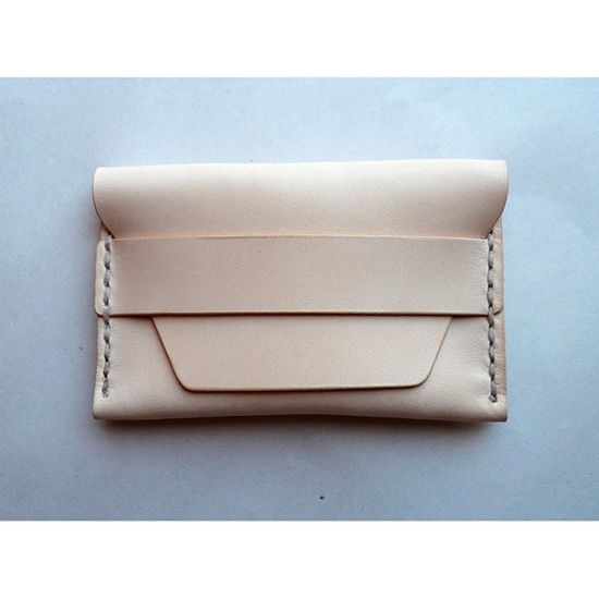 Leather Card Case 01 Wallet - 6 colors