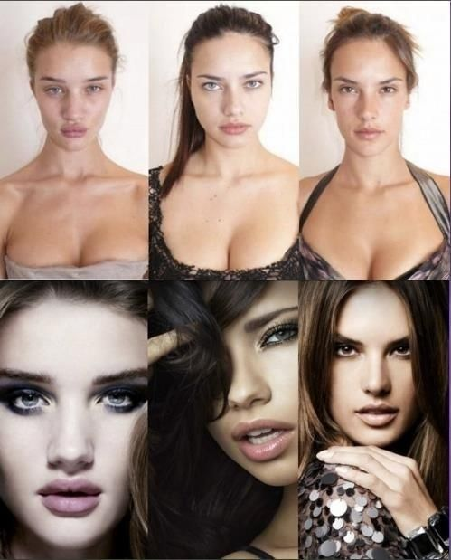 If you're feeling bad about yourself.. Celebrities without makeup