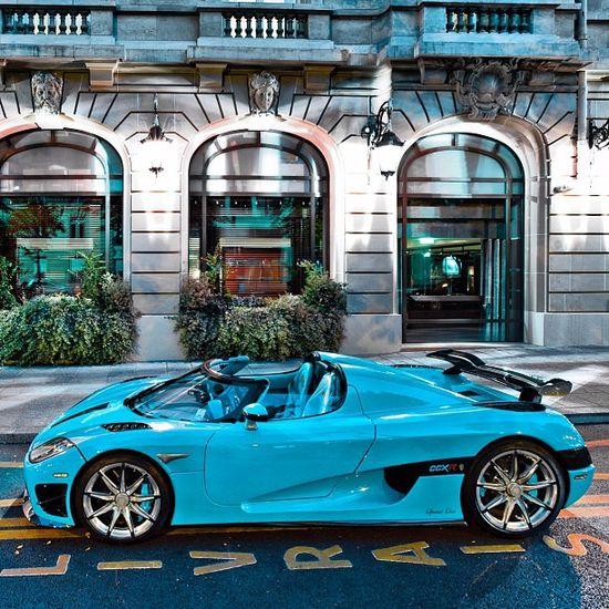 Dream car - Koenigsegg CCXR