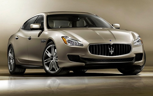2013 Maserati Quattroporte to be Introduced at Detroit Auto Show