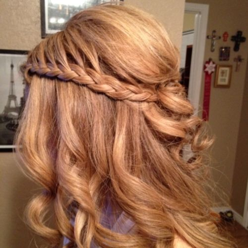 Waterfall braid.