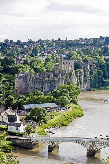 Chepstow Castle, Wales
