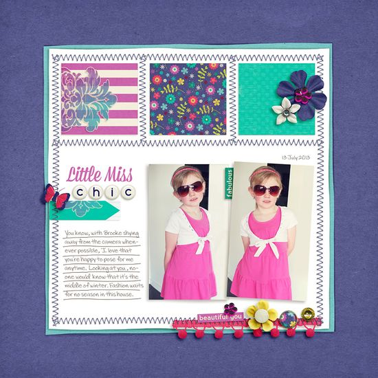 Little Miss Chic - Scrapbook.com
