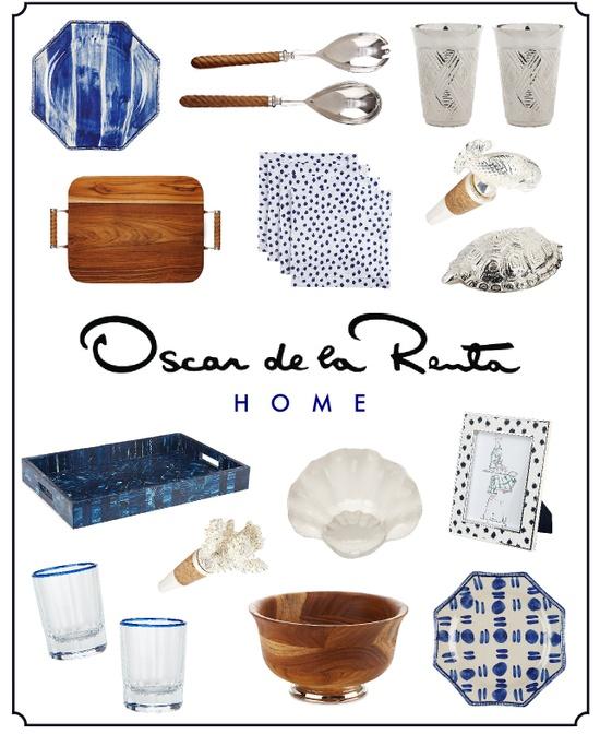 Oscar de la Renta's new home collection