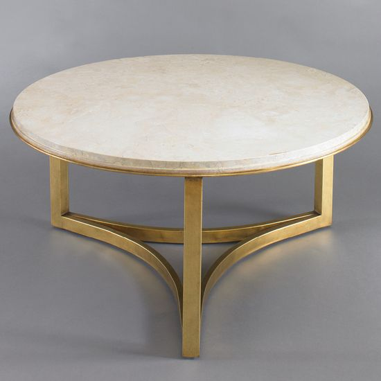 Milo Coffee Table in Travertine