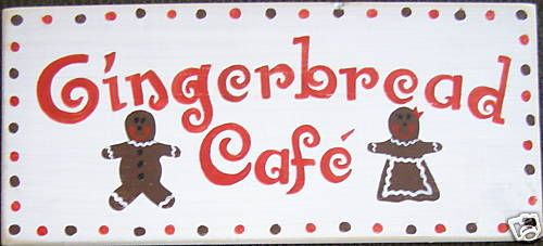 Gingerbread Cafe Kitchen Decoration #FindItFollowIt #spon