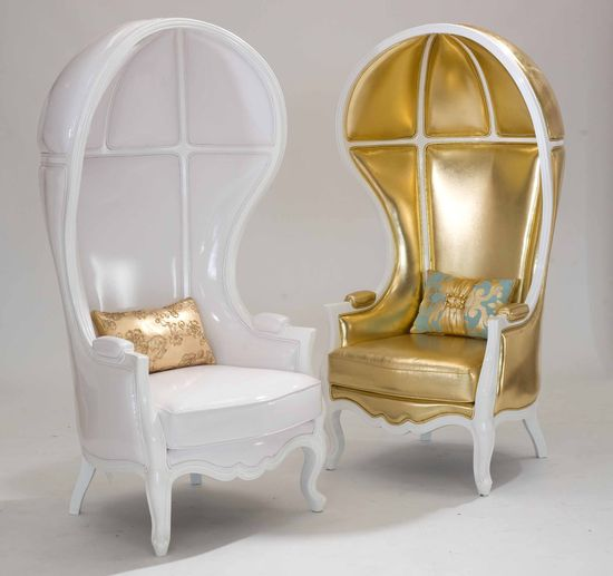opulent chairs: love!