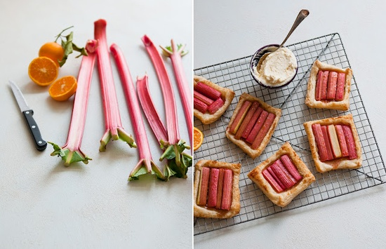 rhubarb tarts