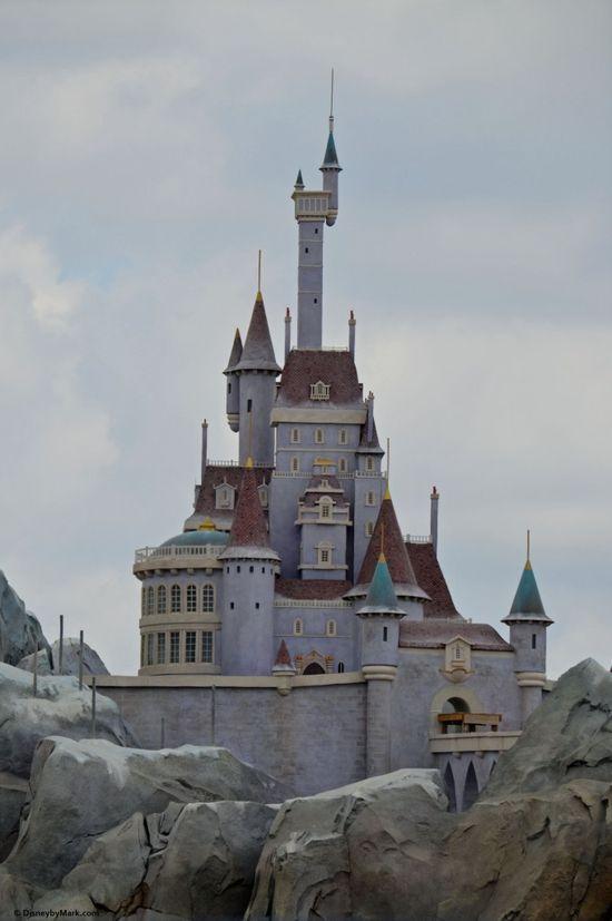 Beast's Castle at the New Fantasyland Walt Disney World's Magic Kingdom