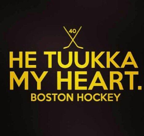 Tuukka Rask is an an