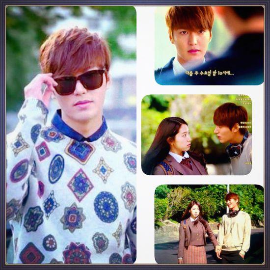 the heirs korean drama, starring lee min ho and park shin hye.enough said.