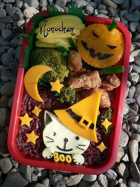 Halloween bento box #funinthekitchen