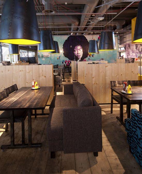 Re designed Restaurant Interior