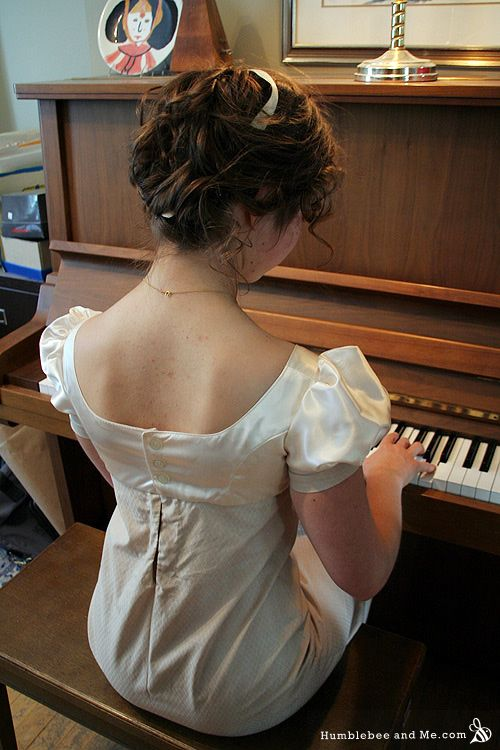 DIY Regency Gown