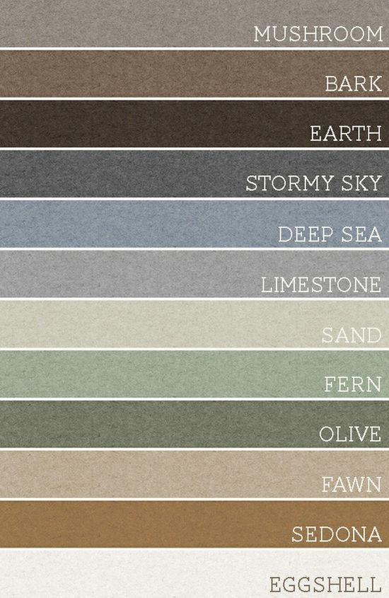 """""""Take any set of 3 of these colors and each room would be amazing. A palette for the whole house."""""""