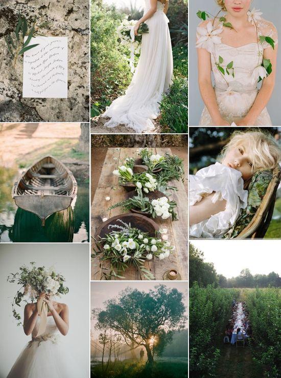 Organic Wedding Ideas