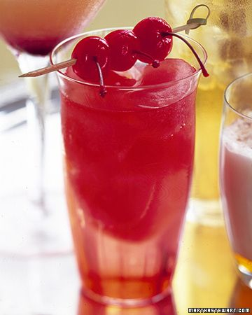 Nonalcoholic party drink idea: Cherry Bombs