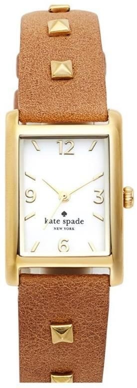 kate spade new york studded leather strap watch!