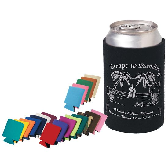 Koozies are one of our most popular Summer items! They are great for family reunions, company picnics and summer festivals. They are also great for yacht clubs and those who would name their yachts! Oh how I miss Counterpointe.