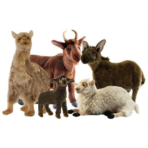 Petting Zoo Stuffed Animal Set