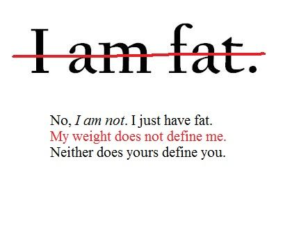 Don't let your weight define you #health #fitness