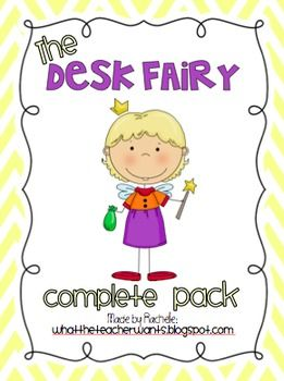 Do your students need motivation to keep a tidy desk?  Try out the Desk Fairy!