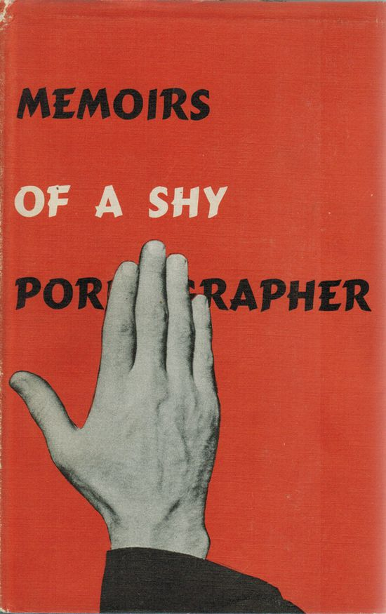 Memoirs of a Shy Pornographer by Kenneth Patchen #book #cover 1945