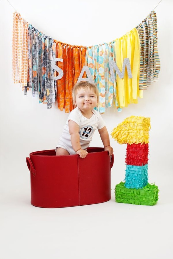 Cute baby and cute banner!